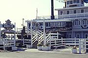 Historic Floating Restaurant Rueben E Lee In Newport Beach California