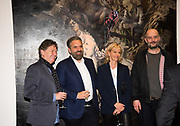 DANNY MOYNIHAN' KEITH TYSON; ELISABETH MURDOCH; DINOS CHAPMAN, Mat Collishaw, The Centrifugal Soul, BLAIN SOUTHERN, London. 6 APRIL 2017