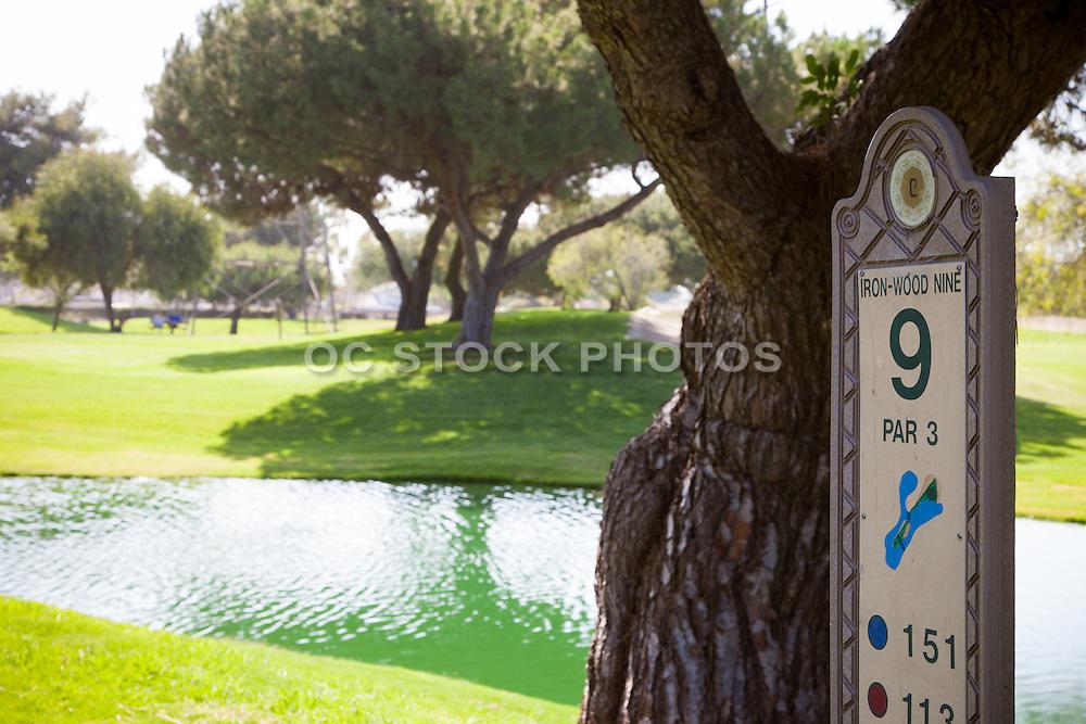 9th Hole at Cerritos Iron-Wood NIne Golf Course
