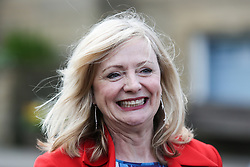© Licensed to London News Pictures. 22/04/2017. Batley, UK. Sitting MP Tracy Brabin on the campaign trail in her constituency of Batley. Brabin only became an MP earlier this year after the murder of Jo Cox. Prime minister Theresa May fired the starting gun on an early general election this week. The snap election will be held on June 8th. Photo credit : Ian Hinchliffe/LNP