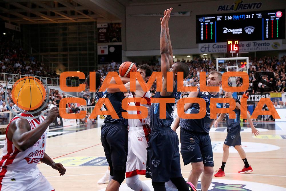 Pascolo<br /> Dolomiti Energia Aquila Basket Trento - EA7 Emporio Armani Olimpia Milano<br /> Semifinale Gara 4, Lega Basket Serie A 2016/2017<br /> PalaTrento 31/05/2017<br /> Foto Ciamillo-Castoria / M.Brondi