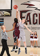 February 10, 2014: The McMurry University War Hawks play against the Oklahoma Christian University Lady Eagles in the Eagles Nest on the campus of Oklahoma Christian University.