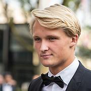 NLD/Hilversum//20170821 - Voetbalgala 2017, Kasper Dolberg, Talent van het Jaar