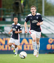 Falkirk's Blair Alston. Falkirk 0 v 2 Rangers, Scottish Championship game played 15/8/2014 at The Falkirk Stadium.