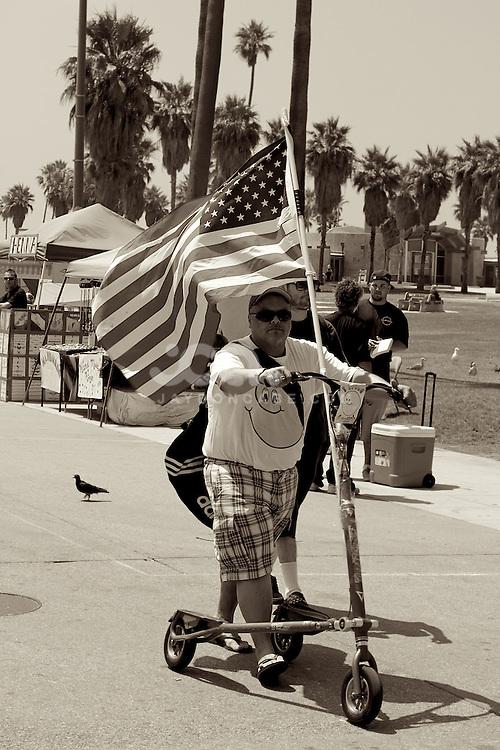 Streetshots of Venice Beach, California, USA