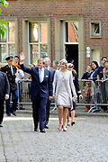 Koning Willem Alexander en Koningin Maxima op provinciebezoek in Groningen.<br /> <br /> King Willem Alexander and Queen Maxima visit the province of  Groningen<br /> <br /> Op de foto:  Bezoek van de Koning en Koningin aan het provinciehuis<br /> <br /> Visit of the King and Queen at the Provincial House