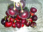 red dark Cherries