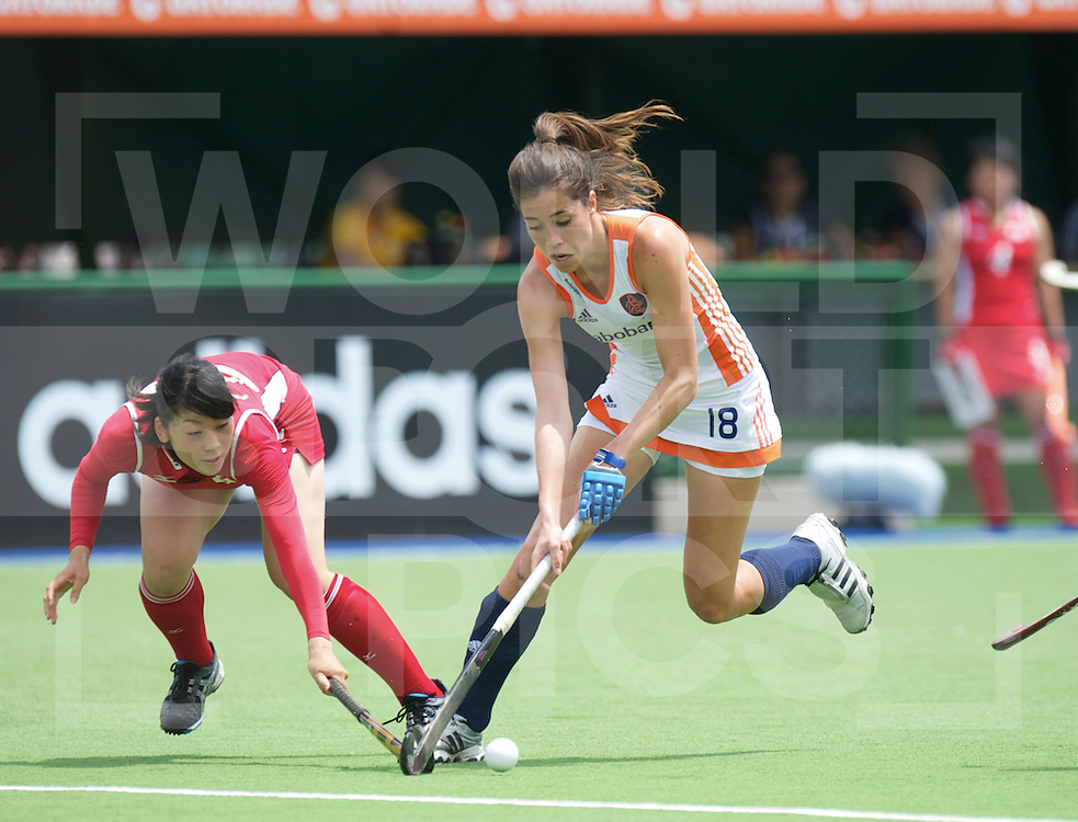 ROSARIO - Champions Trophy women.Netherlands v Japan.foto: Naomi van As..FFU Press Agency  COPYRIGHT FRANK UIJLENBROEK..