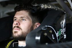 April 6, 2018 - Ft. Worth, Texas, United States of America - April 06, 2018 - Ft. Worth, Texas, USA: The car of Ryan Truex (11) straps into his car to practice for the My Bariatric Solutions 300 at Texas Motor Speedway in Ft. Worth, Texas. (Credit Image: © Chris Owens Asp Inc/ASP via ZUMA Wire)
