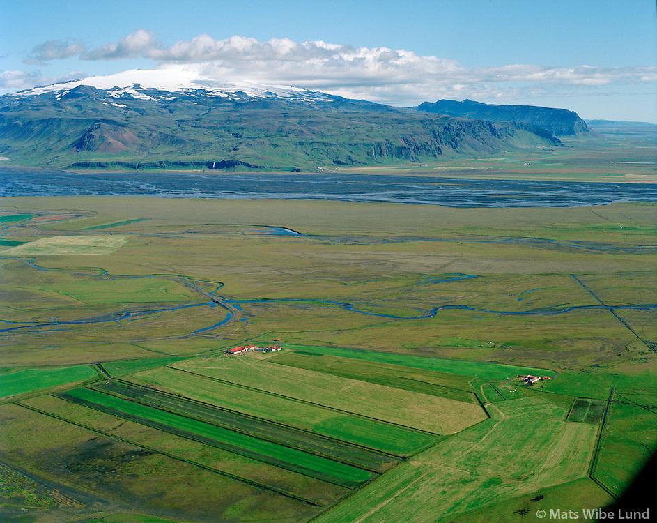Svanavatn séð til austurs, Rangárþing eystra áður Austur-Landeyjahreppur /  Svanavatn viewing east, Rangarthing eystra former Austur-Landeyjahreppur.