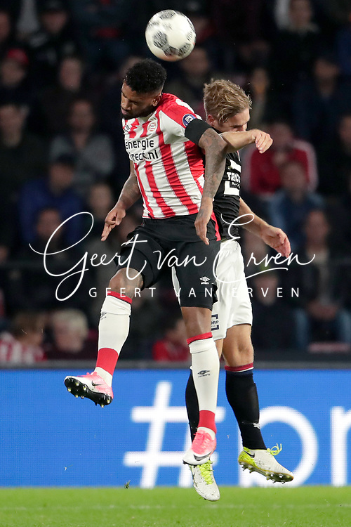 Jurgen Locadia of PSV, Jordens Peters of Willem II