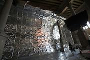 """Lituanian Pavillion. Krzysztof Wodiczko, """"Artwork"""", 2009."""