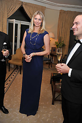 JODIE KIDD at a reception and dinner in association with Martell to launch Raymond Blanc's personal crusade to 'Celebrate French Craftsmanship in the UK' held at the Mandarin Oriental Hotel followed by dinner in the windows of Harrods, Knightsbridge, London on 18th October 2011.