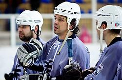 Peter Rozic na Svetovnih zimskih masters igrah, 30.1.2010, Bled, Slovenia.