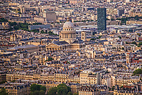 Le Pantheon & Paris Cityscape