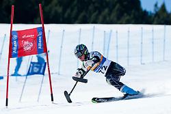 MISAWA Hiraku, JPN, Giant Slalom, 2013 IPC Alpine Skiing World Championships, La Molina, Spain