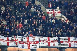 England fans inside the Olympiastadion - Mandatory by-line: Matt McNulty/JMP - 26/03/2016 - FOOTBALL - Olympiastadion - Berlin, Germany - Germany v England - International Friendly