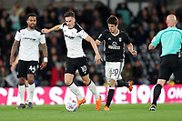 DERBY, ENGLAND - MAY 11: - DCFC vs Fulham. Tom Lawrence, tries to go on a run