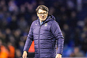 Luton Town Caretaker Manager Mick Harford at the end of  The FA Cup 3rd round replay match between Luton Town and Sheffield Wednesday at Kenilworth Road, Luton, England on 15 January 2019.