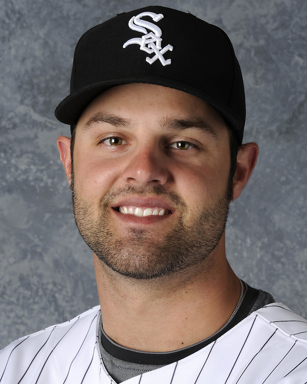 GLENDALE, AZ - FEBRUARY 26:  Jordan Danks of the Chicago White Sox poses for a portrait during photo day on February 26, 2011 at Camelback Ranch in Glendale, Arizona. (Photo by Ron Vesely)