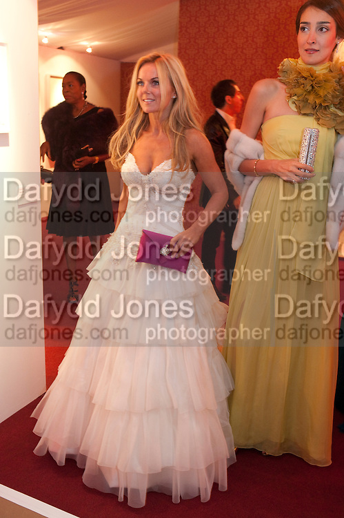 GERI HALLIWELL; YASMIN GHANDEHARI, Evgeny Lebedev and Graydon Carter hosted the Raisa Gorbachev charity Foundation Gala, Stud House, Hampton Court, London. 22 September 2011. <br /> <br />  , -DO NOT ARCHIVE-&copy; Copyright Photograph by Dafydd Jones. 248 Clapham Rd. London SW9 0PZ. Tel 0207 820 0771. www.dafjones.com.