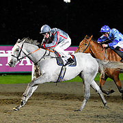 Fiftyshadesfreed and Jim Crowley winning the 6.00 race
