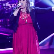 NLD/Hilversum/20121109 - The Voice of Holland 1e liveuitzending, Sifra Geesink