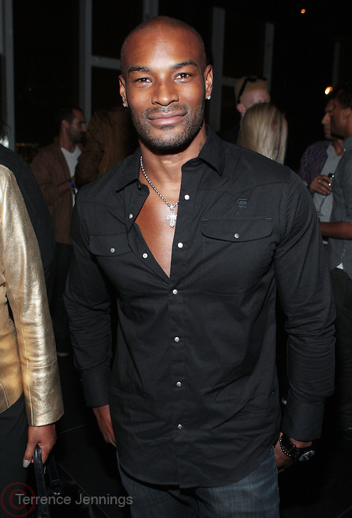 9 September 2010- New York, NY- Tyson Beckford at The 25th Anniversary Celebration hosted by Bethann Hardison on the occassion of Naomi Campbell's 25 years in the Fashion Industry held at Lebain in the Standard Hotel on September 9, 2010 in New York City.