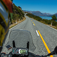 The road from Glenorchy to Queenstown