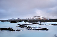 The Blue Lagoon, Reykjanes Peninsula, Iceland.