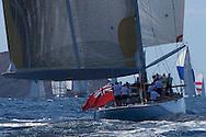 St Barths, St Barths Bucket Regatta, 27th March 2009, Race 1, Ranger. 137' J Boat.
