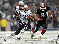 Kevin Faulk, New England Patriots @ Buffalo Bills, 11 Dec 05, 1pm, Ralph Wilson Stadium, Orchard Park, NY