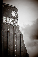 Clarence Flower Mill, Kingston Upon Hull, East Yorkshire, United Kingdom, 26 August, 2015.