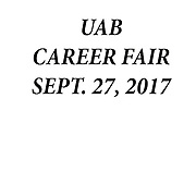 UAB CAREER FAIR SEPTEMBER 27,2016