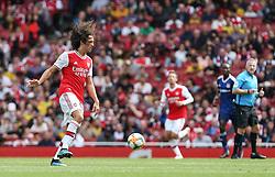 Matteo Guendouzi of Arsenal controls the ball - Mandatory by-line: Arron Gent/JMP - 28/07/2019 - FOOTBALL - Emirates Stadium - London, England - Arsenal v Olympique Lyonnais - Emirates Cup
