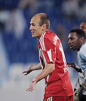 Fussball 1. Bundesliga  Saison   2010/2011   08.01.2011 FC Bayern Muenchen -  Al Wakrah Sport Club Arjen Robben (FC Bayern Muenchen)