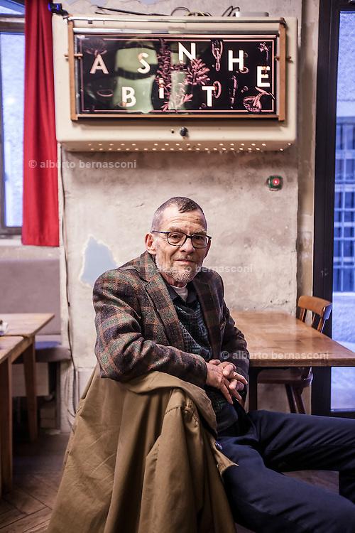 Switzerland, Zurich: Cabaret Voltair,Maurice Maggi , artist, guerilla gardener