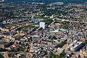 Nederland, Gelderland, Apeldoorn, 30-06-2011;.Overzicht met in de voorgrond Stadhuis..Overview city of Apeldoorn, city hall right bottom..luchtfoto (toeslag), aerial photo (additional fee required).copyright foto/photo Siebe Swart