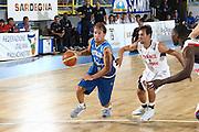 DESCRIZIONE : Cagliari Eurobasket Men 2009 Additional Qualifying Round Italia Francia<br /> GIOCATORE : Giuseppe Poeta<br /> SQUADRA : Italy Italia Nazionale Maschile<br /> EVENTO : Eurobasket Men 2009 Additional Qualifying Round <br /> GARA : Italia Francia Italy France<br /> DATA : 05/08/2009 <br /> CATEGORIA : Penetrazione palleggio<br /> SPORT : Pallacanestro <br /> AUTORE : Agenzia Ciamillo-Castoria/C.De Massis