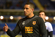 Hull City midfielder Jake Livermore during the Sky Bet Championship match between Birmingham City and Hull City at St Andrews, Birmingham, England on 3 March 2016. Photo by Alan Franklin.
