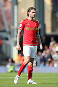 Nottingham Forest midfielder Henri Lansbury (10) looking on during the Sky Bet Championship match between Fulham and Nottingham Forest at Craven Cottage, London, England on 23 April 2016. Photo by Matthew Redman.