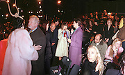 Isabella Blow, Colin Mcdowell,Anna Wintour and Hamish Bowles amongst others.  Philip Treacy fashion show. 21/2/99. © Copyright Photograph by Dafydd Jones<br />66 Stockwell Park Rd. London SW9 0DA Tel 0171 733 0108