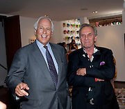 SIR EVELYN DE ROTHSCHILD; MARK SHAND, The launch party for Elephant Parade hosted at the house of  Jan Mol. Covent Garden. London. 23 June 2009.