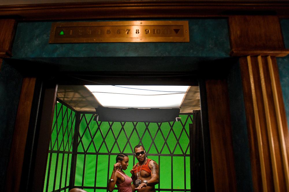"EVENT NAME:Flo Rida ""Elevator"" Video Shoot.LOCAL START DATE:Sunday, January 27, 2008.MEDIA EVENT ID:79245589.DATELINE:Miami.PHOTOGRAPHER(s):.Ritchie, Josh - Fort Lauderdale, Florida"