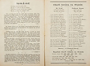 All Ireland Senior Hurling Championship Final,.Programme,.05.09.1954, 09.05.1954, 5th September 1954,.Cork 1-9, Wexford 1-6,.Minor Dublin v Tipperary, .Senior Cork v Wexford,.Croke Park,..Dublin Minor Team, S O'Neill, C Moore, T O'Neill, S O'Dwyer, M Meagher, B Boothman, P Whelan, T Bracken, P McGuirk, A Kavanagh, U Bell, P Delaney, P Hyland, E Kelly, P Farnham, Substitutes, M Bohane, S Higgins, M Mannion, P Feeney, C Feeley, ..Tipperary Minor Team, S Doyle, M Cleary, D O'Shea, C Molony, R Ryan, R Reidy, L Quinn, L Mahoney, M Burns, S Murphy, T Gouldsborough, L O'Donovan, S Kenny, M Stapleton, L. Connolly, Substitutes, S Hyland, C Aherne, C Darmody, P Ryan, T Breen,