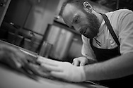 Ian Boden of Glass Haus Kitchen in Charlottesville, Virginia is a semi-finalist for the James Beard Foundation Award for Best Chef Mid-Atlantic.