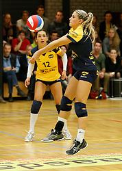 20-10-2013 VOLLEYBAL: EREDIVISIE PEELPUSH - SLIEDRECHT SPORT: MEIJEL<br /> Lieke Clerkx, Peelpush<br /> ©2013-FotoHoogendoorn.nl / Pim Waslander