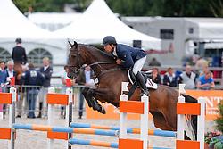 Heijligers Rob (NED) - Dairo<br /> 5jarige Springpaarden<br /> KWPN Paardendagen Ermelo 2013