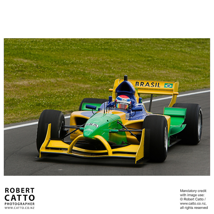Raphael Matos at the A1 Grand Prix of New Zealand at the Taupo Motorsport Park, Taupo, New Zealand.