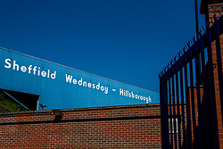 A general view of Hillsborough, home to Sheffield Wednesday - Mandatory by-line: Robbie Stephenson/JMP - 22/04/2019 - FOOTBALL - Hillsborough - Sheffield, England - Sheffield Wednesday v Bristol City - Sky Bet Championship